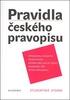 Pravidla českého pravopisu, Studentské vydání