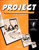 Project 1 Work Book, Pracovní sešit