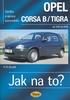 OPEL CORSA B/TIGRA OD 3/93 - 8/00, ÚDRŽBA A OPRAVY AUTOMOBILŮ Č. 23.