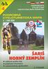 Šariš, Horný Zemplín 1:100 000, 4 Podrobná cykloturistická mapa
