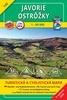 Javorie Ostrôžky 1:50 000, 145 Turistická mapa