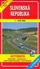 Slovenská republika 1:250 000, Automapa Road map Autokarte Mapa samochodowa Autotérkép
