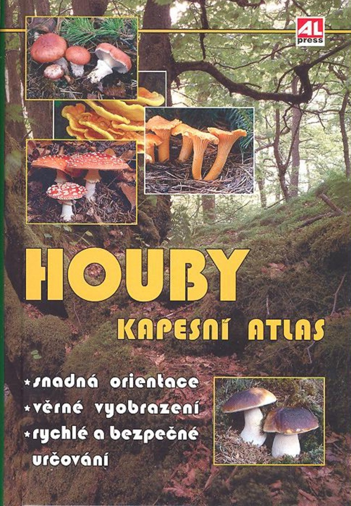 Houby Kapesní atlas