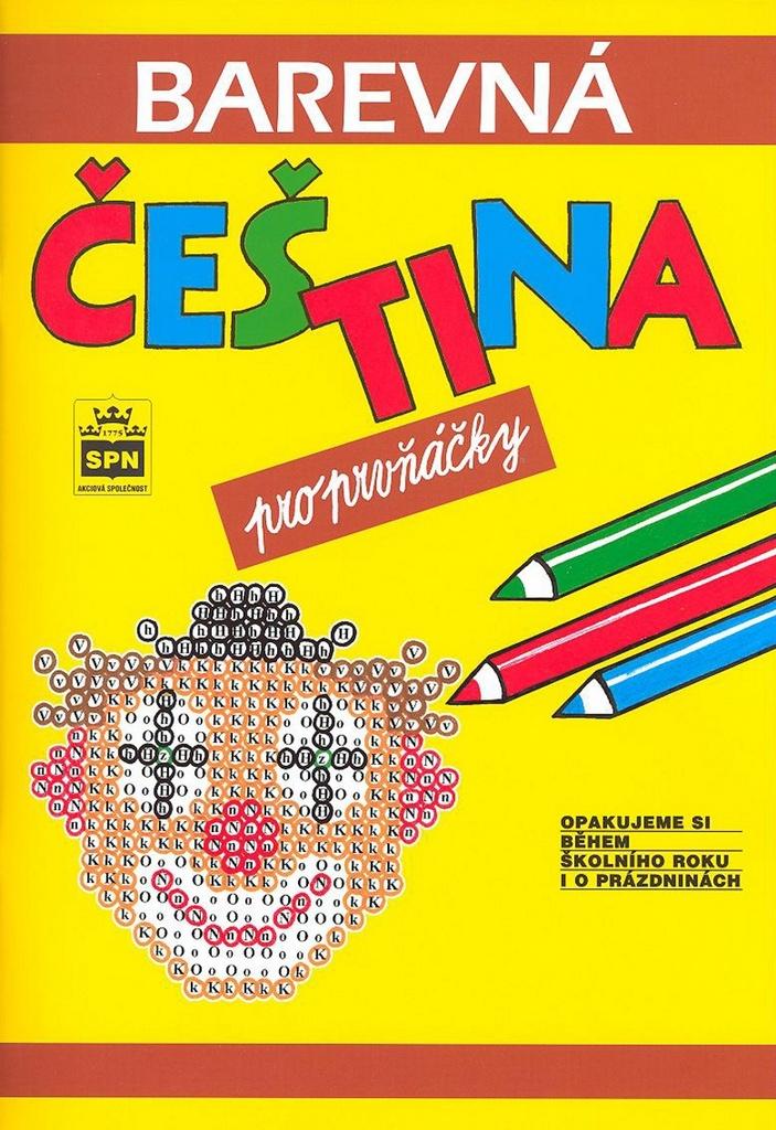 Barevná čeština pro prvňáčky - Simona Pišlová