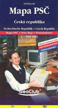 Mapa PSČ Česká republika 1:500 000