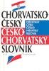 Chorvatsko - český, česko - chorvatský slovník, kapesní, bílá řada