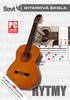 Gitarová škola Rytmy, multimediálne výukové 2CD