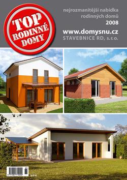 Top rodinné domy 2008