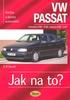 VW Passat Limuzína od 4/88 do 9/96, variant pd 6/88 do 5/97, Údržba a opravy automobilů č. 16