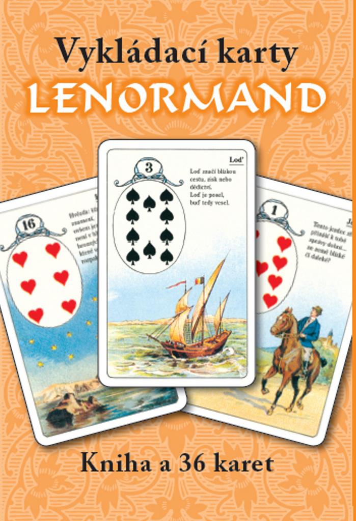 Vykládací karty Lenormand - Mademoiselle Lenormand