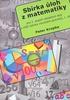 Sbírka úloh z matematiky 1.díl, Pro 2.stupeň základních škol a nižší ročníky víceletých gymnázií