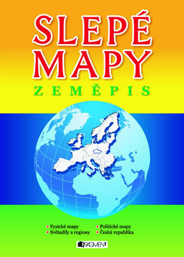 Slepé mapy Zeměpis - Jaroslava Barešová