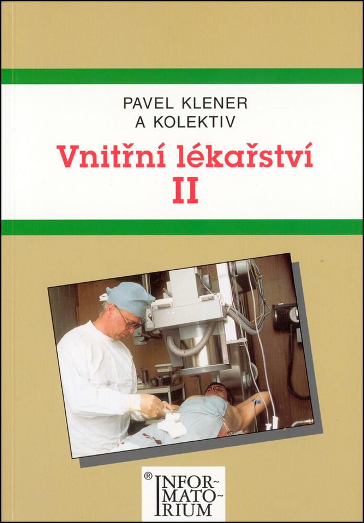 Vnitřní lékařství II - Pavel Klener