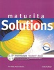 Maturita Solutions Intermediate Student's Book, + CD ROM