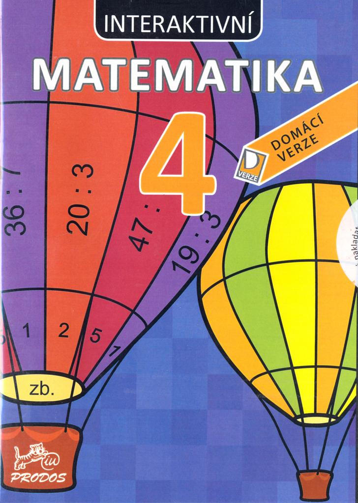 CD Interaktivní matematika 4 - Marie Šírová