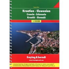 Chorvatsko-Slovinsko atlas 1:150T FB