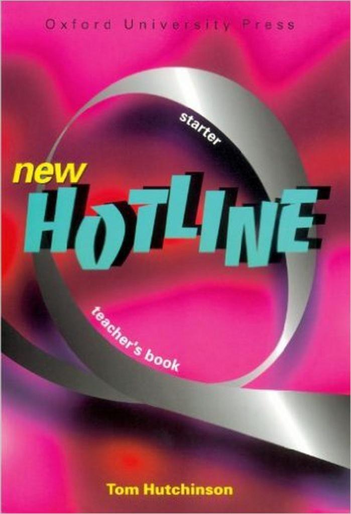 New hotline Starter Techer´s book - Tom Hutchinson