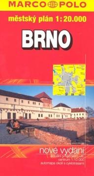 Brno - plán tvrdá obálka