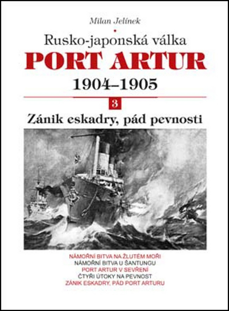 Port Artur 1904-1905 3. díl Zánik eskadry, pád pevnosti - Milan Jelínek