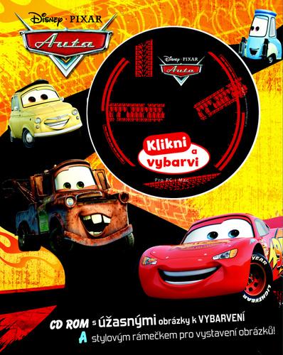 Auta Omalovánka s CD