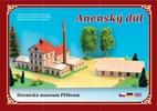 Anenský důl Hornické muzeum Příbram, Stavebnice papírového modelu