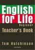 English for life Beginner Teacher's Book + MultiROM