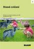 Hravé cvičení, Náměty na pohybové aktivity pro děti předškolního věku