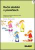 Roční období v písničkách, Náměty na pohybové aktivity pro děti předškolního věku