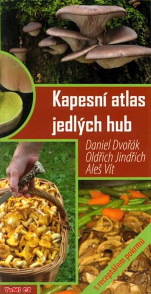 Kapesní atlas jedlých hub - Daniel Dvořák