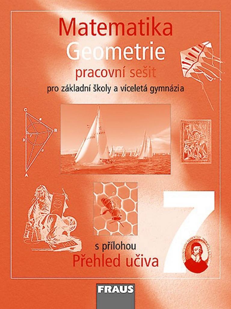 Matematika 7 Geometrie Pracovní sešit - Helena Binterová