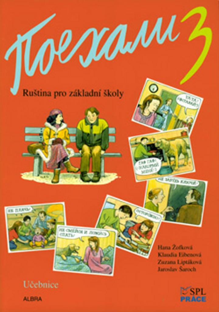Pojechali 3 učebnice ruštiny pro ZŠ