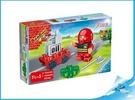 Banbao stavebnice Fire Young Ones, Figurka Tobees hasič s doplňky 4ks 18m+ v krabičce