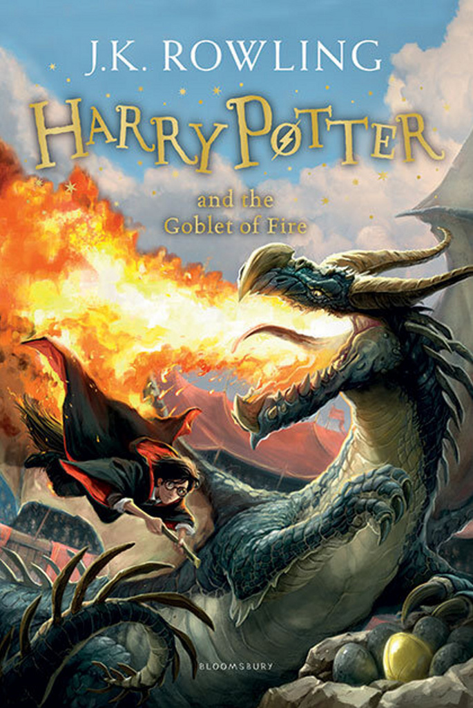 Bloomsbury UK Joanne K. Rowling Harry Potter and the Goblet of Fire 4