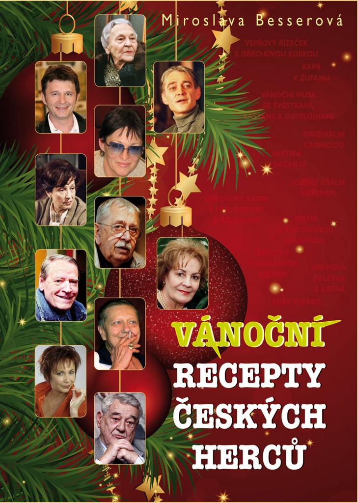 Vánoční recepty českých herců - Miroslava Besserová