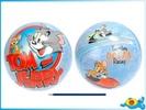 T&J Míč 23cm Tom a Jerry v síťce modrý