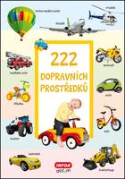 222 dopravních prostředků -