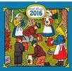 Josef Lada - V lese - nástěnný kalendář 2016