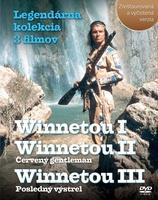 Balíček 3 ks DVD, Winnetou I, II, III Legendárna kolekcia 3 filmov -
