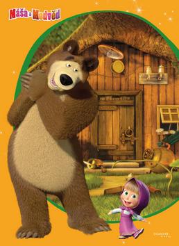 Máša a Medvěd Z pohádky do pohádky