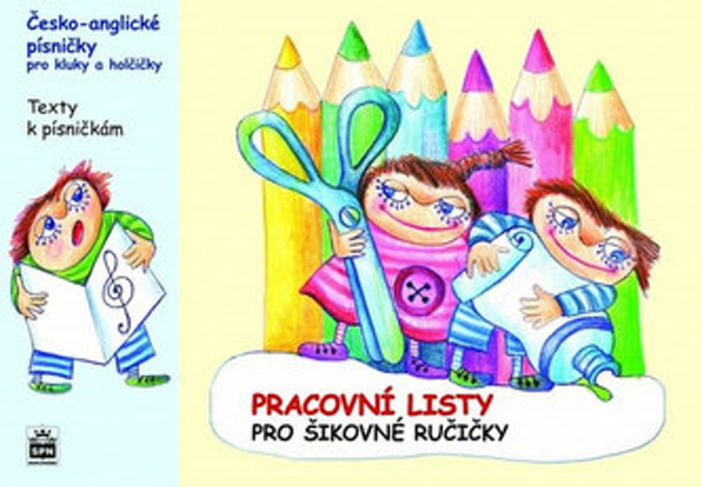 Česko-anglické písničky pro kluky a holčičky - Marcela Kořínková