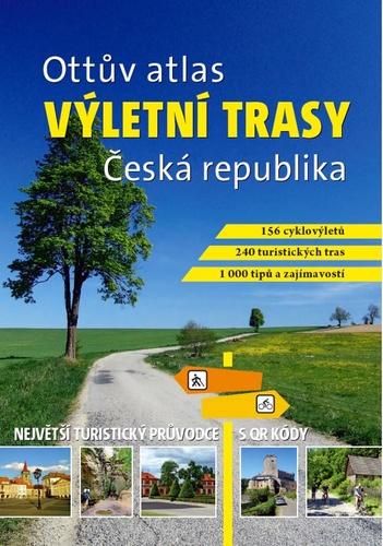 Ottův atlas výletní trasy Česká republika