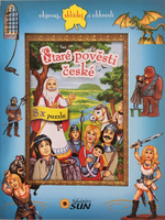 Staré pověsti české - 8x puzzle, objevuj, skládej a obkresli