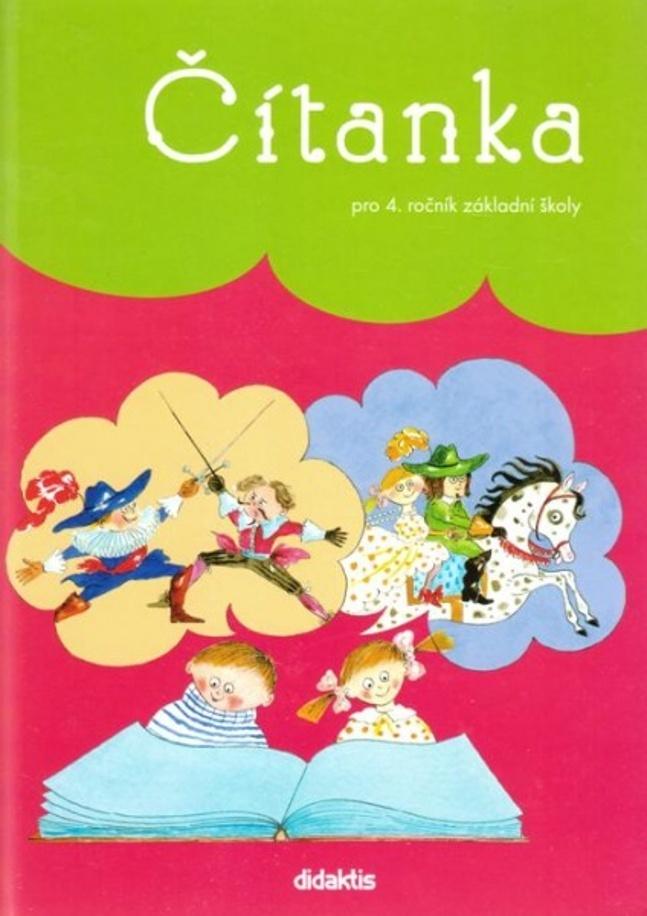 Čítanka pro 4. ročník základní školy - Lenka Hubeňáková