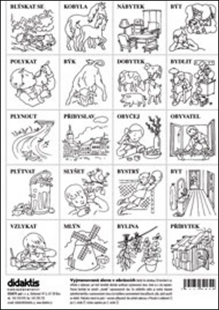 Vyjmenovaná slova v obrázcích