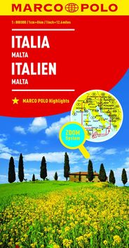 Itálie Italia Italien 1:800 000