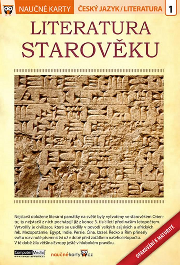 Naučné karty Literatura starověku