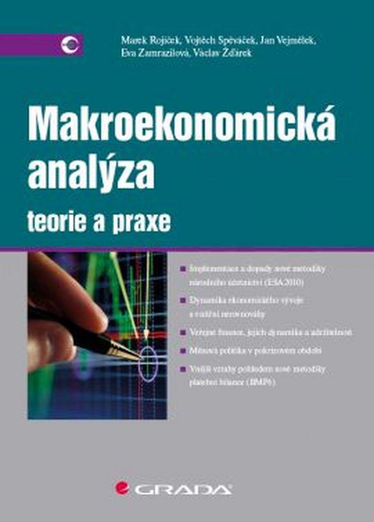 Makroekonomická analýza Teorie a praxe - Vojtěch Spěváček