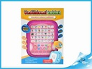 Vzdělávací tablet růžový