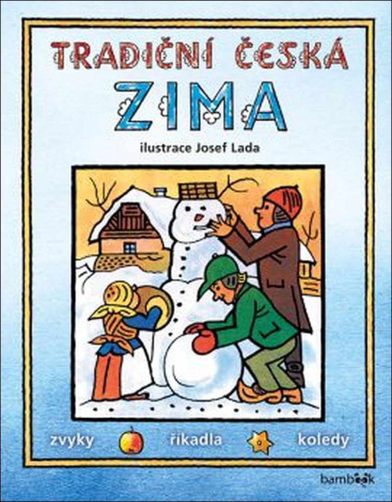 Tradiční česká zima - Josef Lada