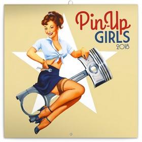 Pin-up Girls  - nástěnný kalendář 2018